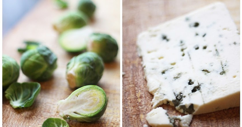 Kitchen Vignettes by Aubergine: Brussels Sprouts Gratin in ...
