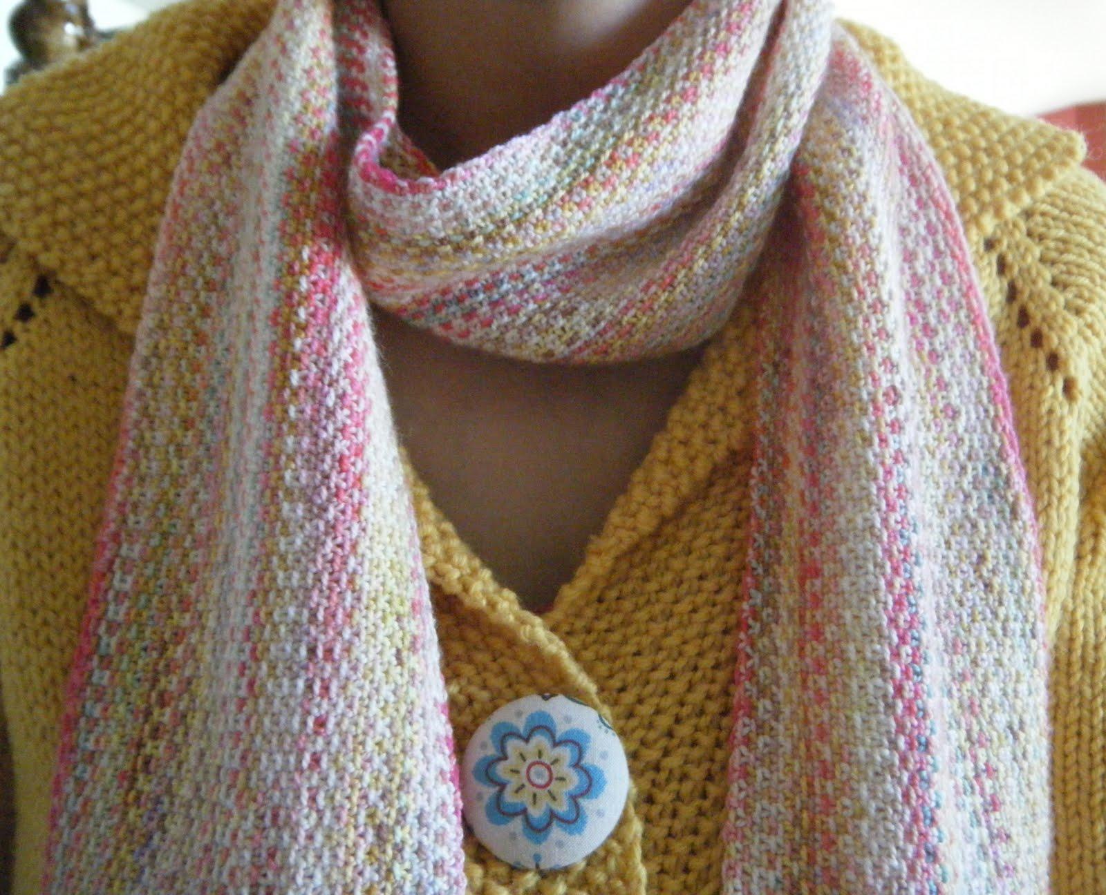 autumngeisha: FO: Linen Stitch Scarf