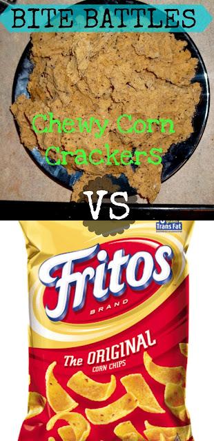 Bite Battles: Chewy Corn Crackers by Custom Taste
