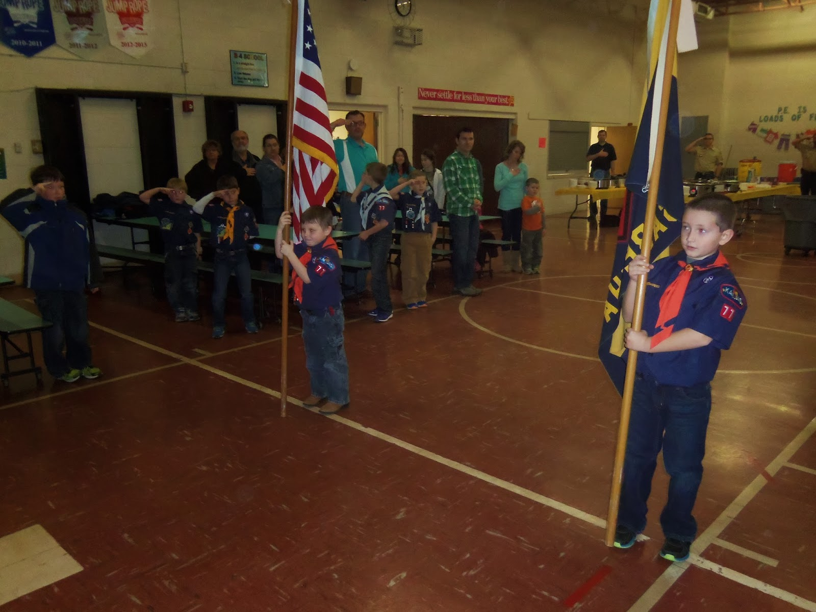 flag ceremony, BoyScouts, school, cakebake, bake sale, mountain cake, mountain boy