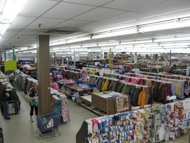 Mary jo's cloth store