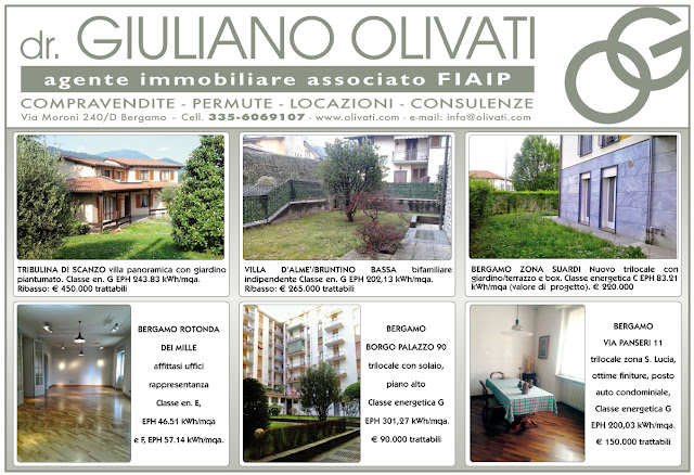 Bergamo agenzia immobiliare olivati case in vendita e for Case in affitto provincia di bergamo