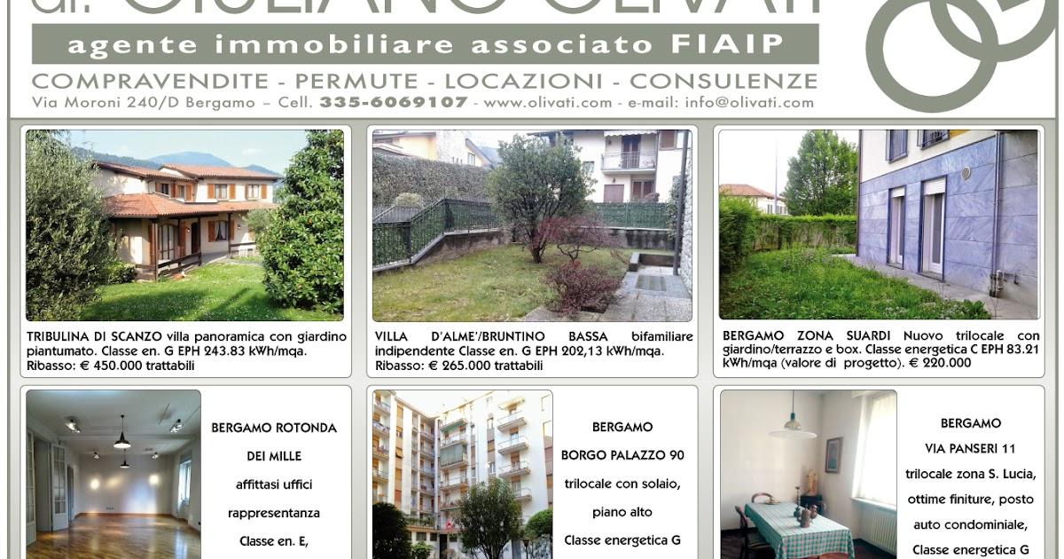 Bergamo agenzia immobiliare olivati case in vendita e for Iva agenzia immobiliare