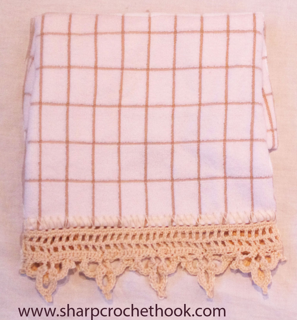 Bernat: Pattern Detail - Handicrafter Cotton - Towel Topper