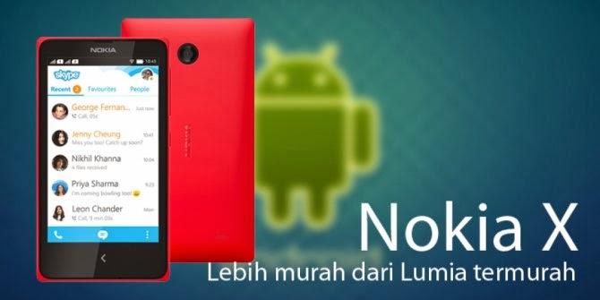 Promo: Beli Nokia X+ dan Nokia XL Bonus MicroSD 4GB