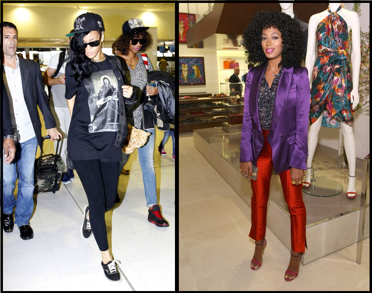Rihanna Casual Outfits 2012 Images Galleries With A Bite