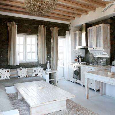 Estilo rustico casas rusticas griegas for Decoracion casa griega