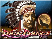 1100 Free Spins Won on Rain Dance Video Slot Machine