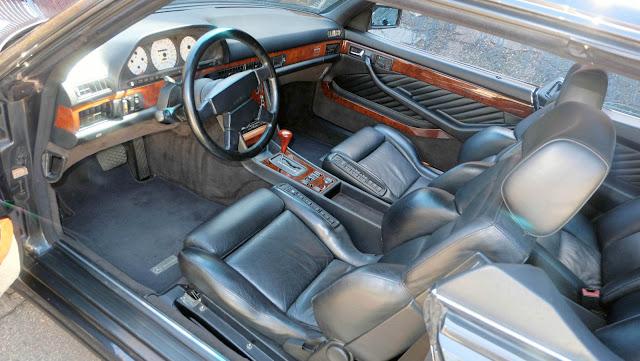 mercedes c 126 amg interior