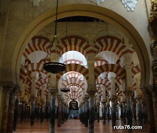 mezquita de cordoba andalucia españa