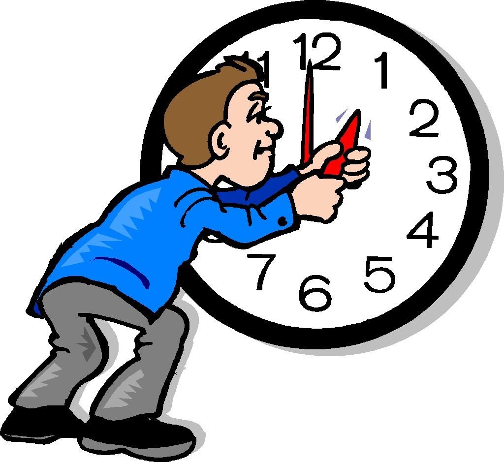 Daylight Savings Time Clip Art
