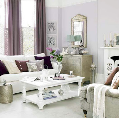 Purple compliments Gold gorgeously! This is a good inspiration for a