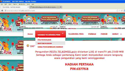 web telkomsel abal-abal