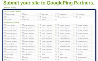 Cara menggunakan google ping agar postingan cepat terindex google