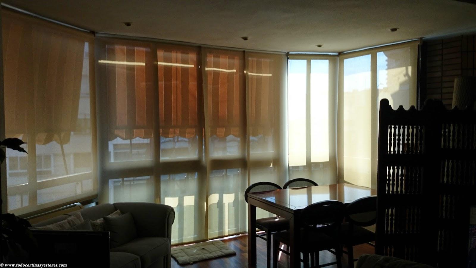 Decoracion interior cortinas verticales estores - Estores screen ikea ...