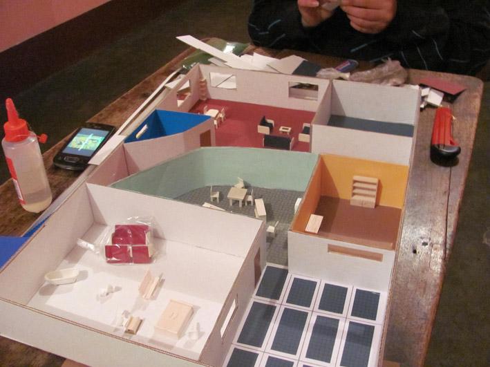 Cultura ambiental casa ecologica maqueta - Construir una casa ecologica ...