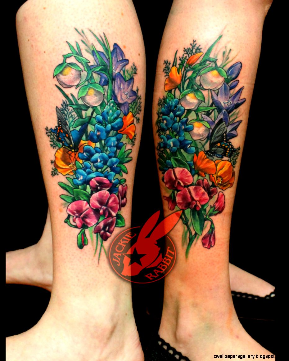 DeviantArt More Like California Wildflowers Tattoo by Jackie
