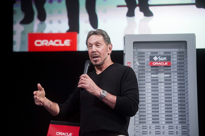 14 Billionaires Who Built Their Fortunes From Scratch - LARRY ELLISON