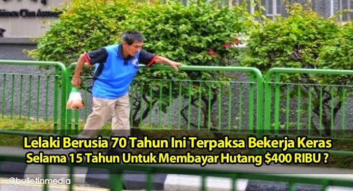 Sadis!!..Lelaki Berusia 70 Tahun,Terpaksa Bayar Hutang $400 Ribu Selama 15 Tahun?..