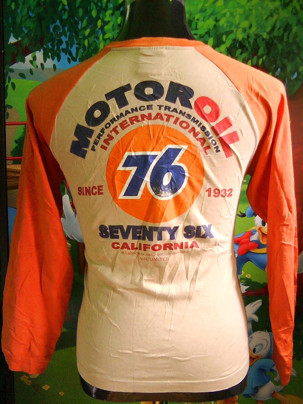 Enjoytable Collection Motor Oil 76 Lubricants California