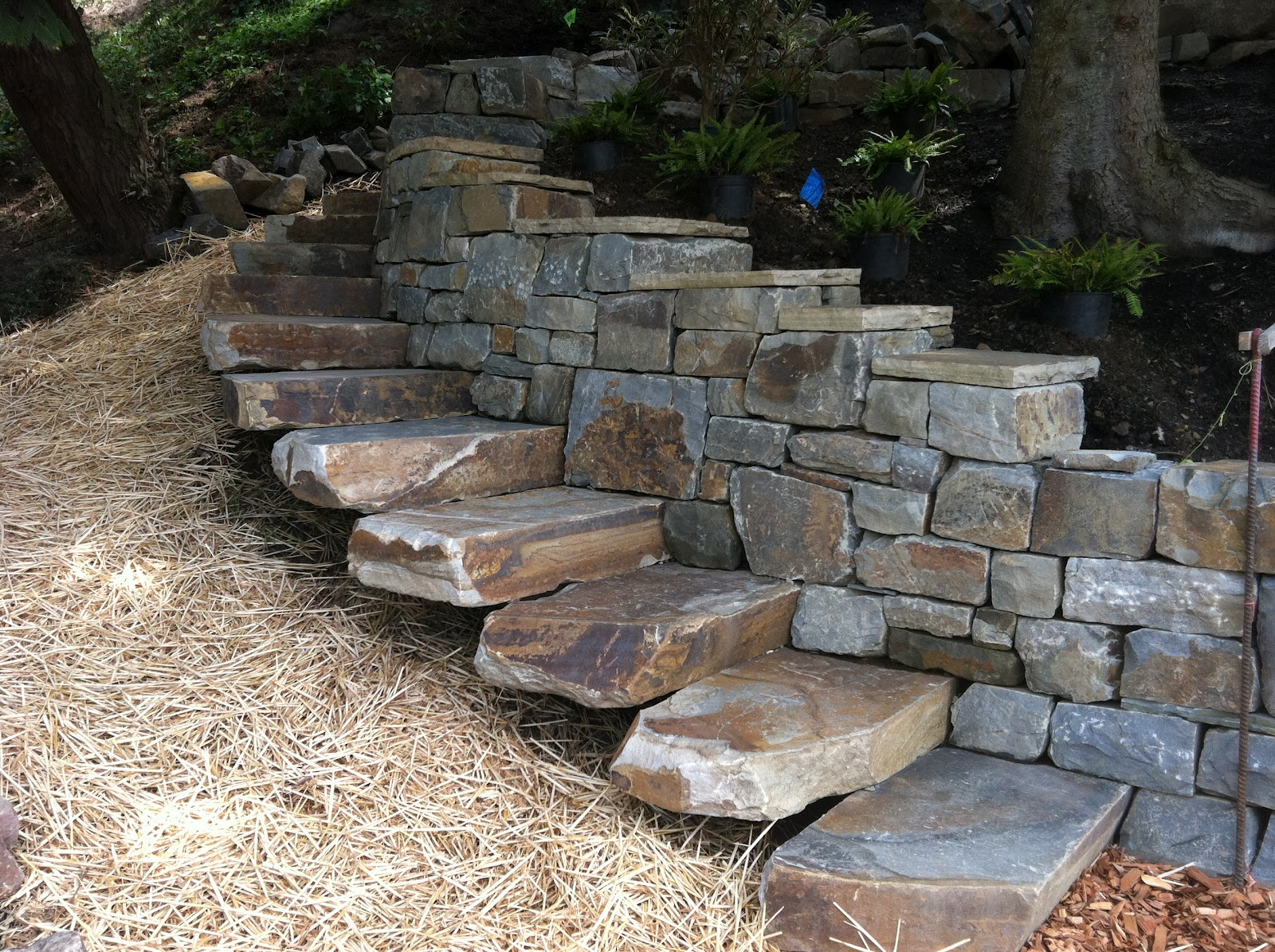 Borrowed Ground Stone Dry Stone Gothic Arch Project