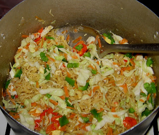 Wives Connection: Indomie Noodles cooked With Vegetables ...