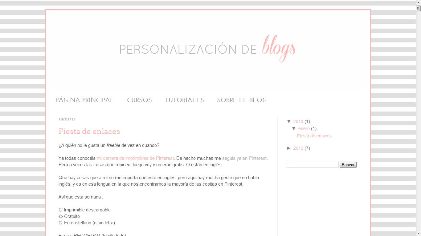 Cómo centrar las pestañas o páginas en Blogger | Personalización de ...