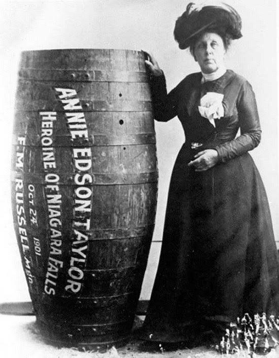 Annie Edson Taylor, a heroína das Cataratas do Niágara - Blog Heroicas