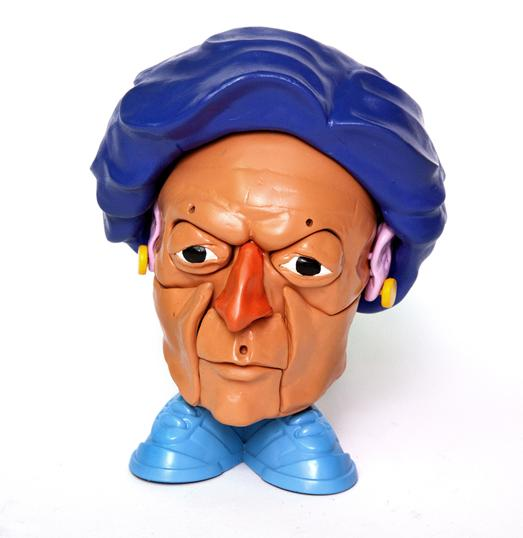 Margaret Thatcher potato head Stephen Ives