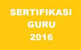 Aturan Sertifikasi Tahun 2016 Berubah