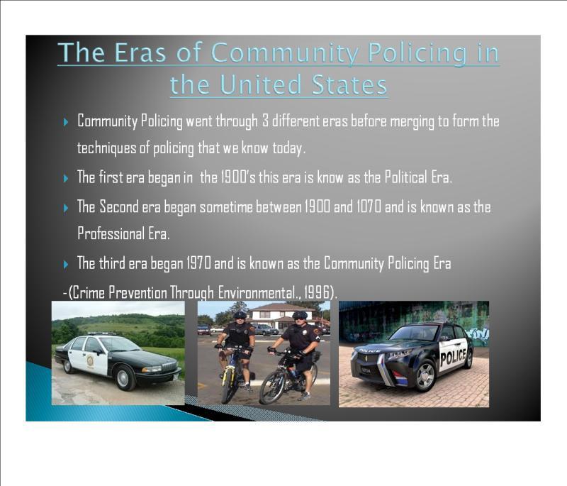 political era of policing