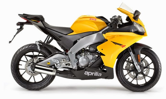 Aprilia RS4 50 Yellow