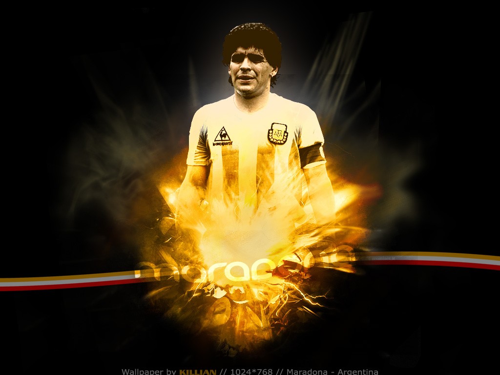 Maradona Boca Juniors Wallpaper