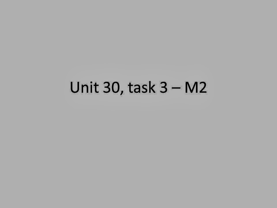 m2 introduction in this task i Unit 3 example assignment - download as word doc (doc), pdf file (pdf), text file (txt) or read online.