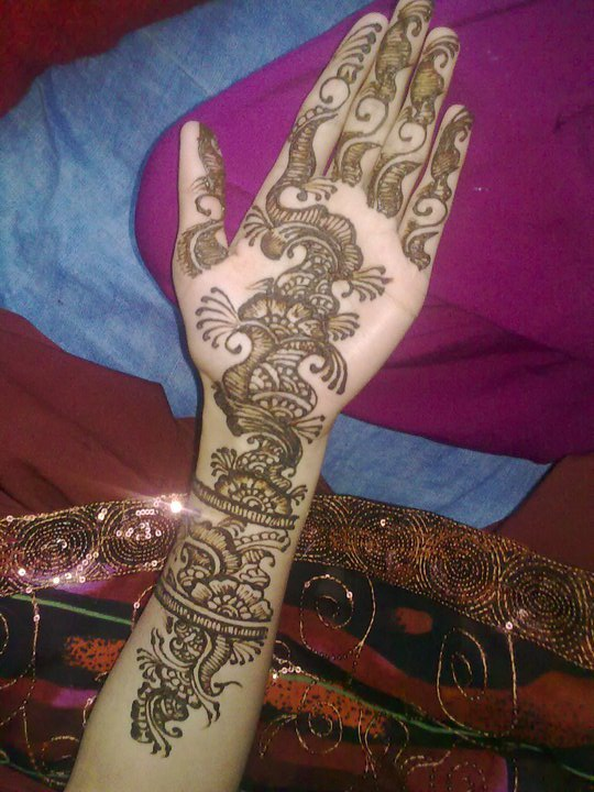 Journal de modele d 39 h nn new henna model - Modele de henna ...