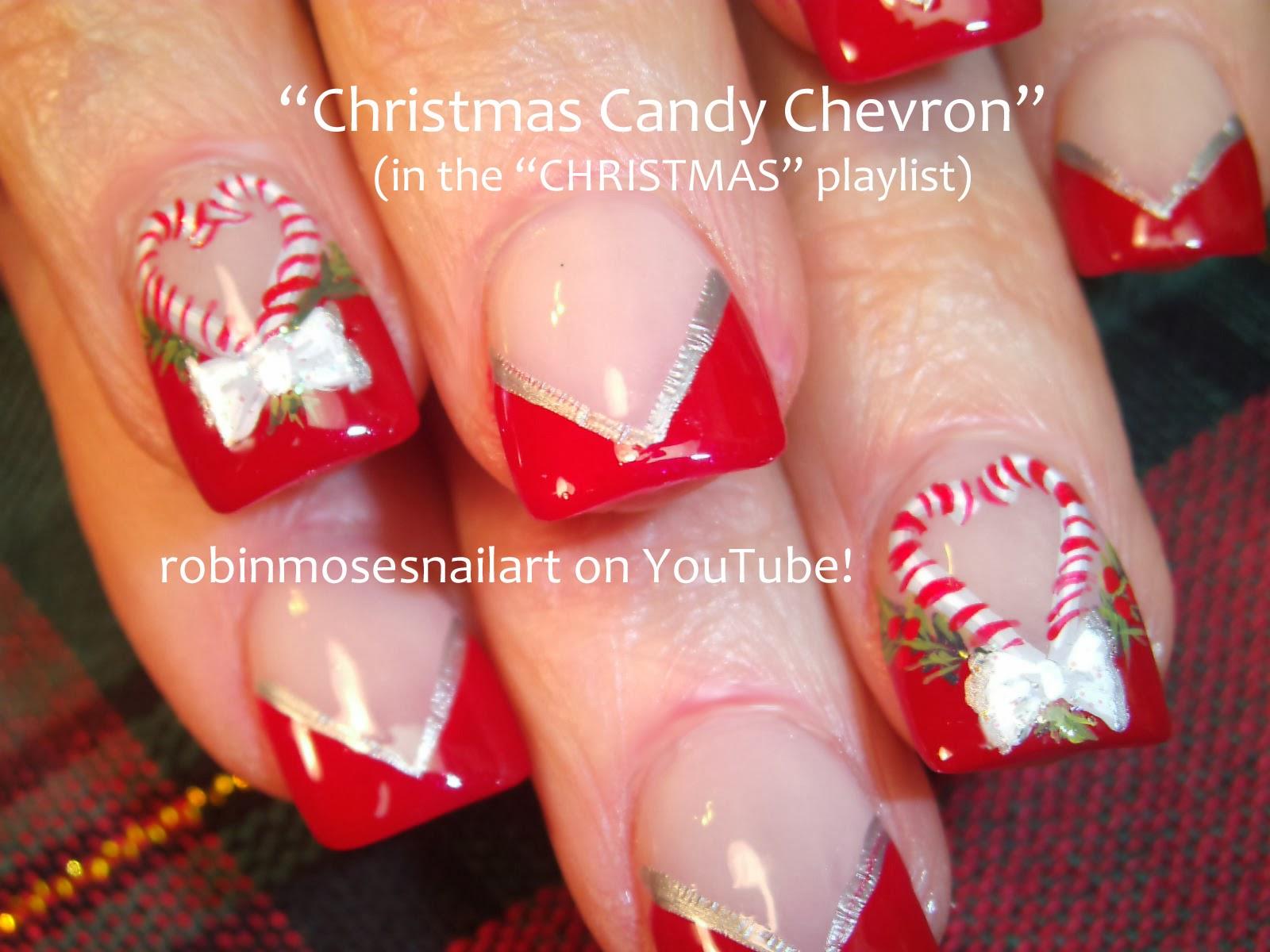 Robin moses nail art christmas nails christmas nail art for Design for christmas