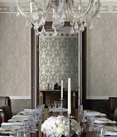 Roberto Cavalli, Pret Tapet, Modele Tapet, Montaj Tapet, Tapet Lux, model floral gri
