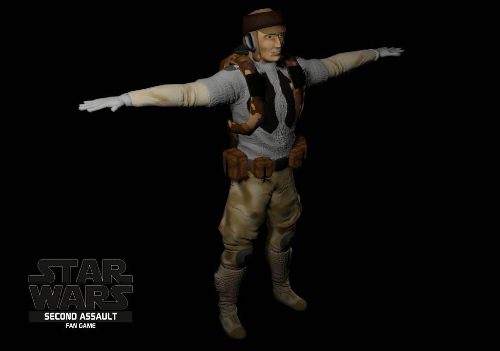 Rebel Soldier Star Wars The human rebel soldier is