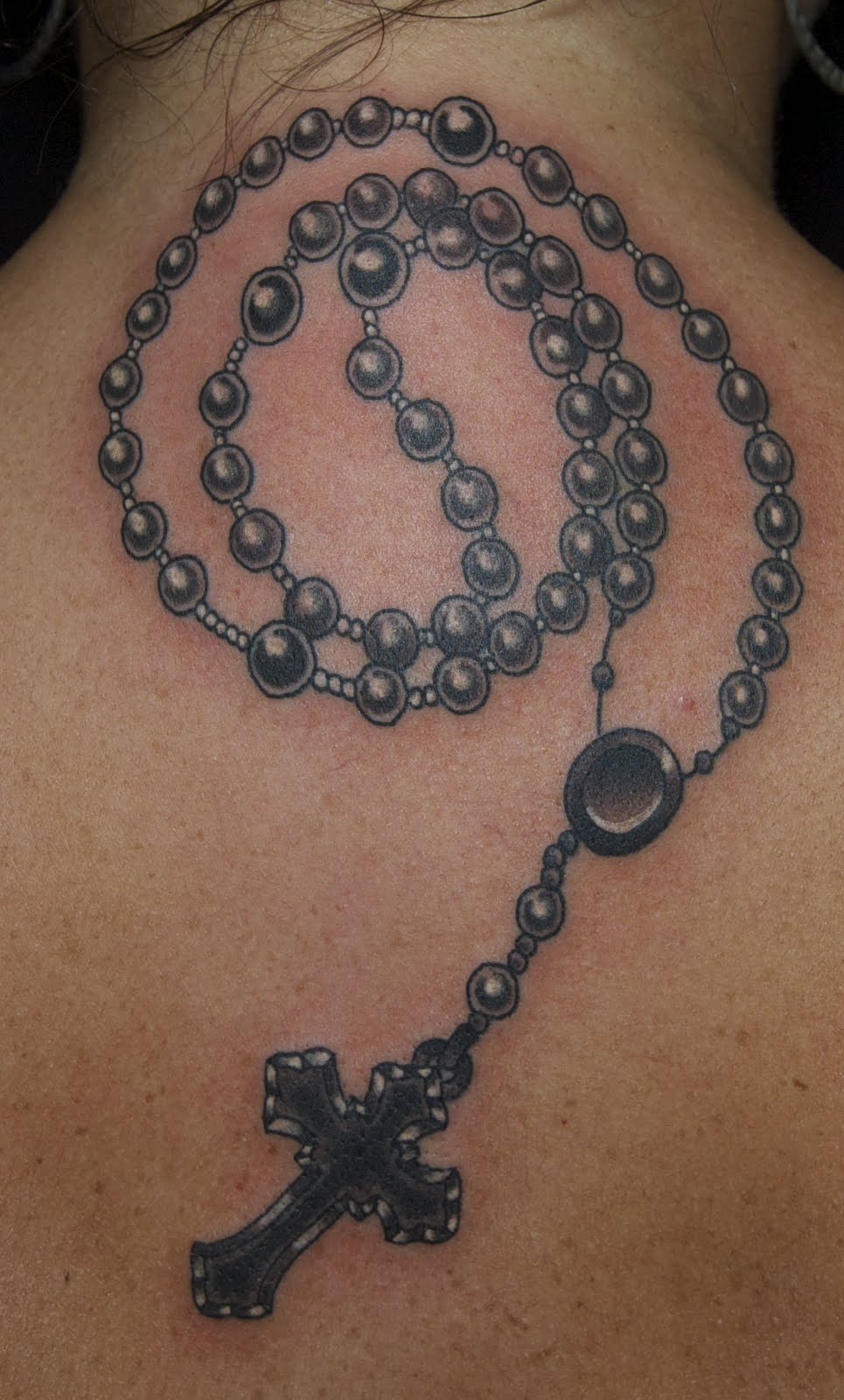 Jeb maykut flyrite tattoo rosary beads for Mf doom tattoo