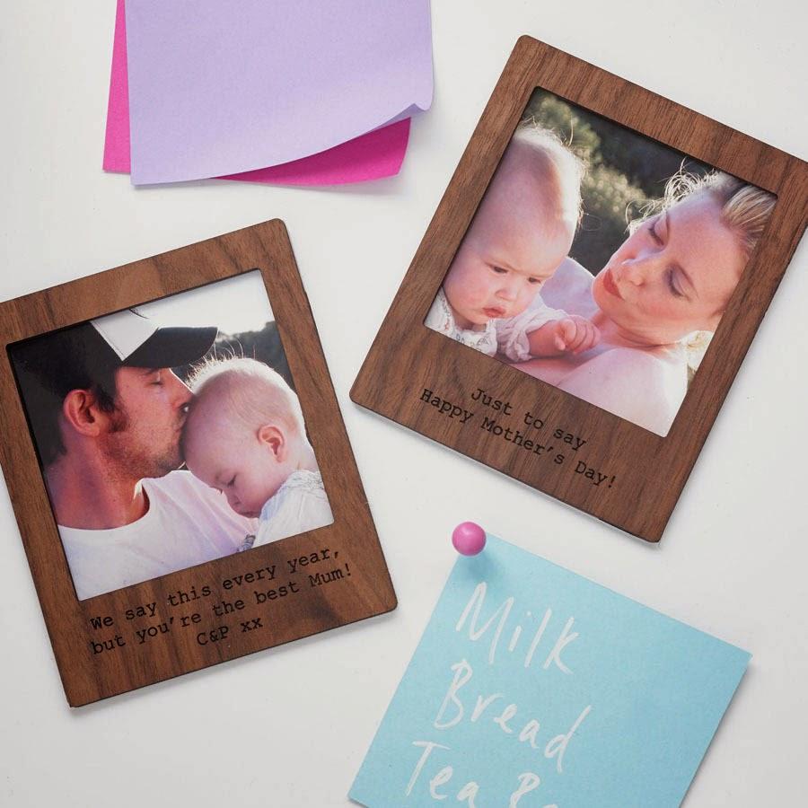 Imanes personalizados con forma de marco de fotos Polaroid