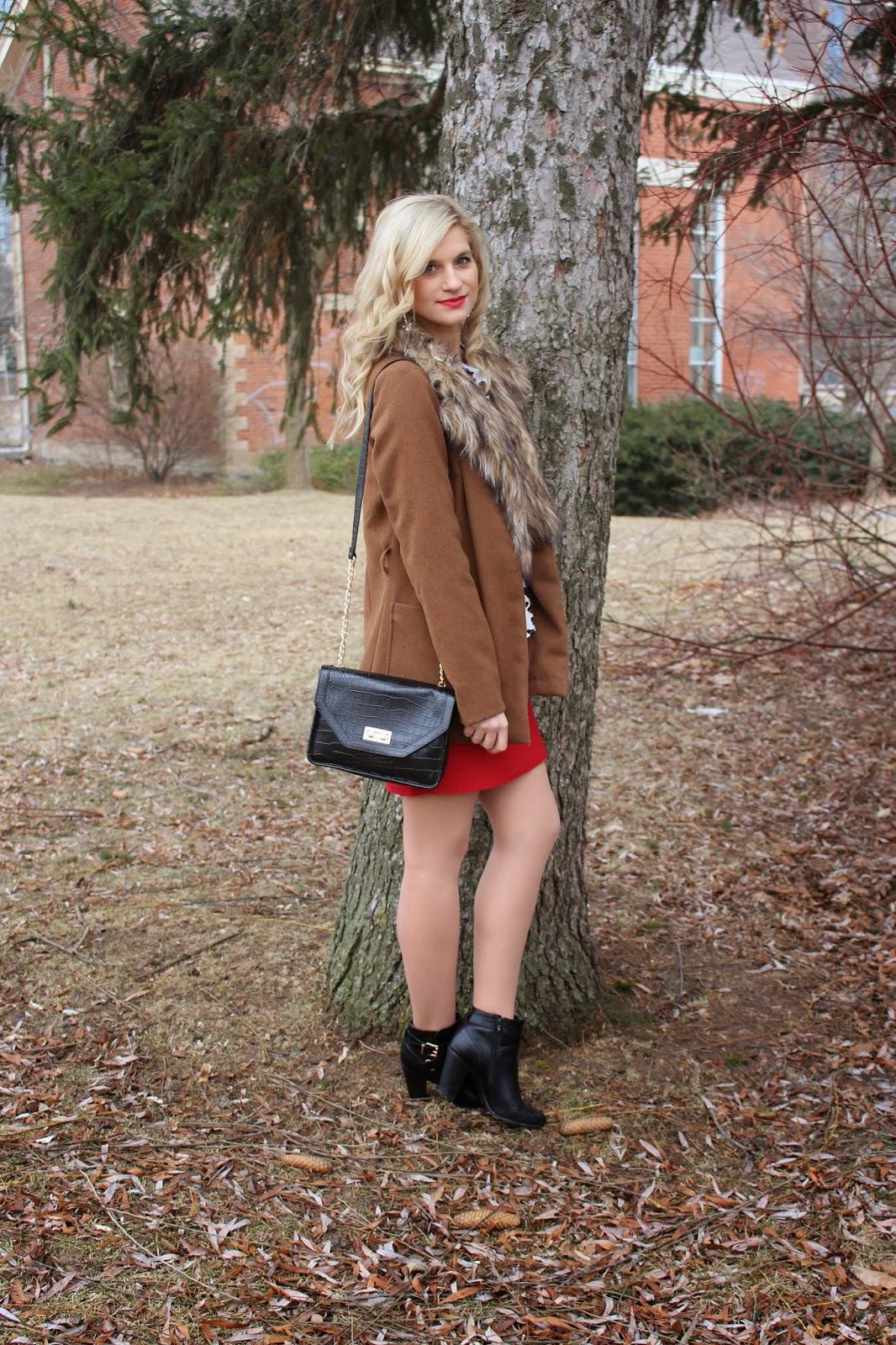 bijuleni - red skirt