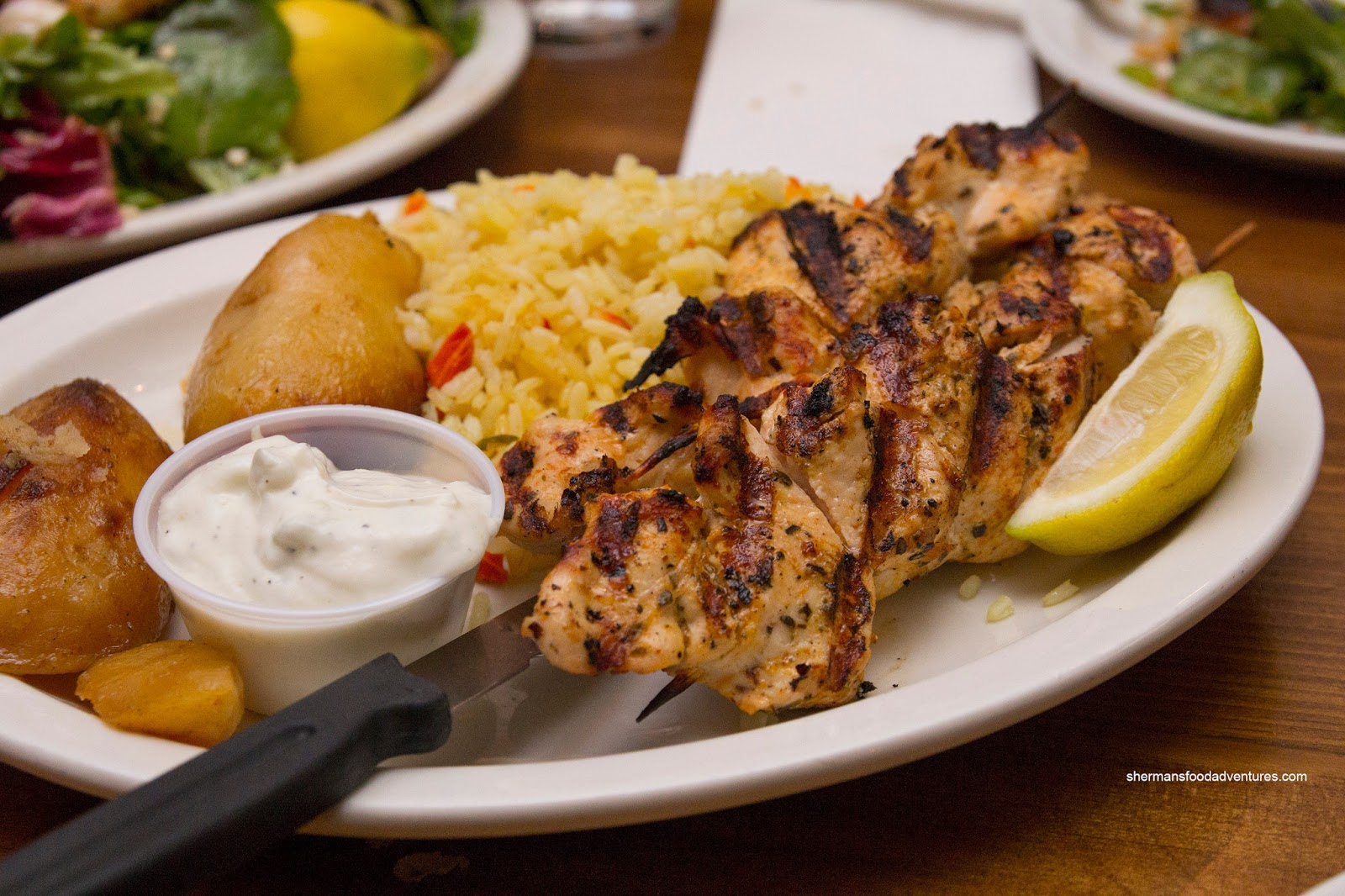 Chicken Souvlaki Recipe — Dishmaps
