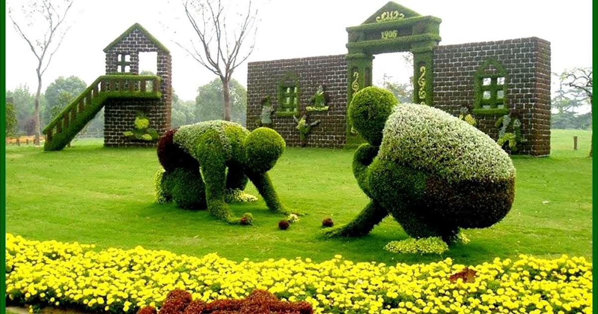 Arte y jardiner a dise o de jardines el arte topiario for Formacion jardineria