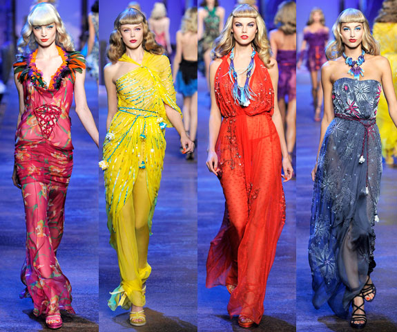 Galliano's Christian Dior Spring/Summer 2011 Collection
