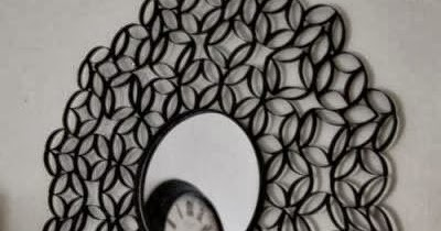 Initiales gg diy un miroir en rouleaux de pq for Stickers miroir en rouleau