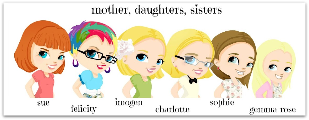 mother, daughters, sisters