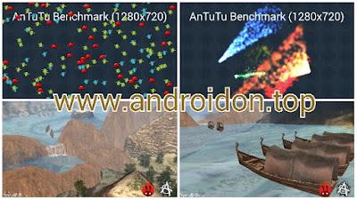 Simulasi 3D pada benchmark AnTuTu