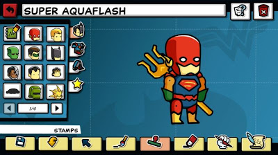 Scribblenauts Unmasked: A DC Comics Adventure Screenshots 1