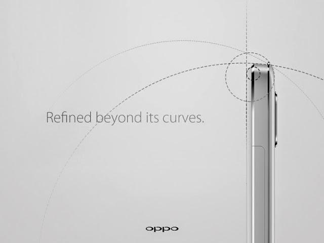 Foto tease Oppo R7 menegaskan desain unibody full metal