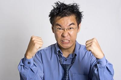 Ilustrasi Kemarahan Seseorang